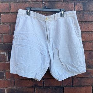 Roundtree and York's linen shorts